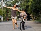 Nívea Stelmann: 'Estou preparando meu filho para o mundo'