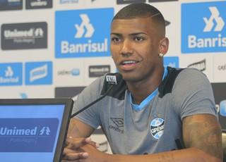 Walace Grêmio (Foto: Eduardo Moura/GloboEsporte.com)