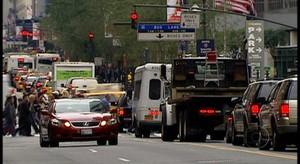 Trânsito caótico de Nova York (Jornal da Globo)