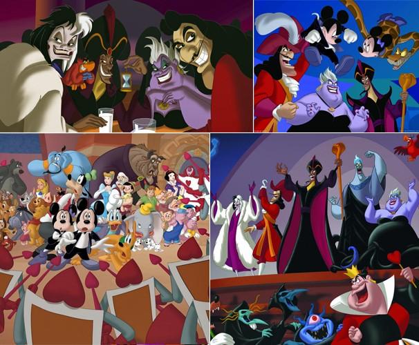 Os vilões querem tomar a Casa do Mickey e transformá-la em uma fortaleza do mal (Foto: Divulgação/Reprodução)