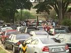 Agentes em greve fecham entrada da Fundação Casa em Ribeirão Preto, SP