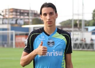 Pedro Geromel, zagueiro do Grêmio (Foto: Diego Guichard)