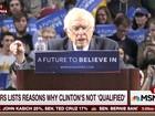 Após série de derrotas, Hillary passa a atacar Sanders