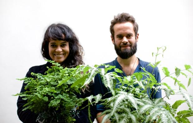 Tulipa Ruiz e Marcelo Jeneci (Foto: Clemente Gauer)