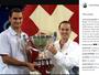 """Hingis lamenta ausência de Federer na Olimpíada: """"Adoraria a parceria"""""""