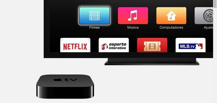 Set-top box Apple TV (Foto: Reprodução/Apple)