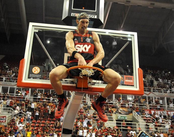 Flamengo campeão inter continental de basquete (Foto: André Durão)