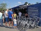 Curitiba testa serviço de aluguel de bicicleta elétrica no Parque Barigui