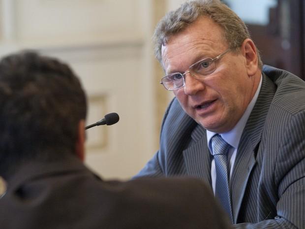 Secretário da Agricultura, Pecuária e Agronegócio RS Luiz Fernando Mainardi (Foto: Gustavo Gargioni/Divulgação Palácio Piratini)