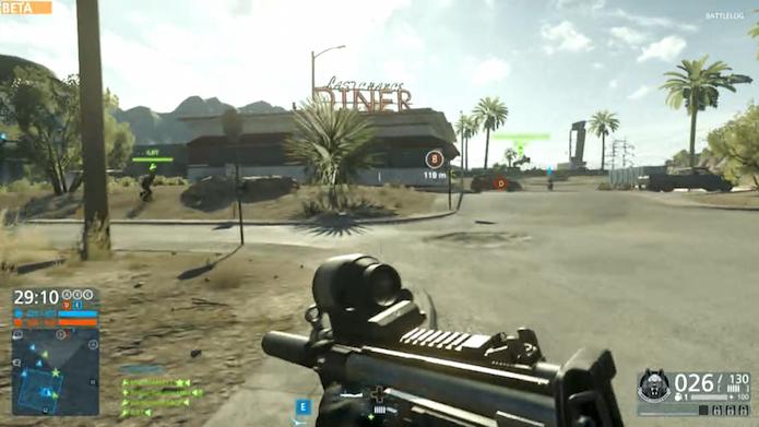 Battlefield Hardline: testamos a versão beta do novo FPS (Foto: Reprodução/Murilo Molina)