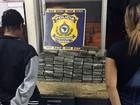 Jovens são presas com mais de 60 kg de drogas dentro de malas na Bahia