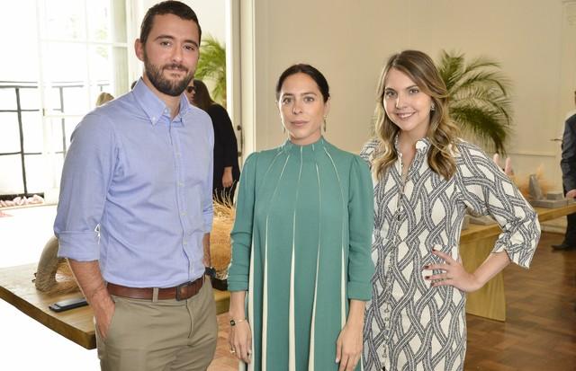 Gabriel Sauer, Stephanie Wenk e Vivian Sotocórno (Foto: João Sal)