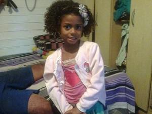 Amanda Daiana, de 5 anos, desapareceu em Gravataí (Foto: Arquivo Pessoal)