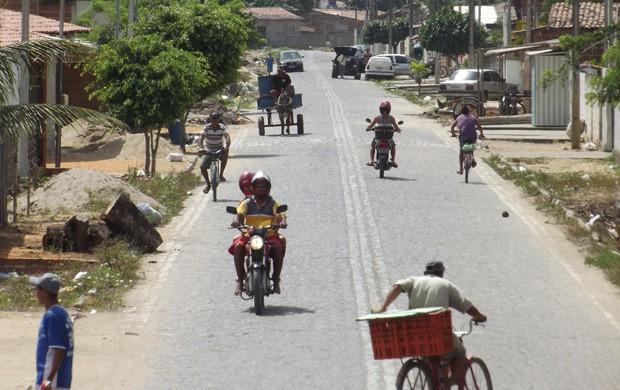 Bairro de Bela Parnamirim fica no limite entre os município de Parnamirim e Macaíba (Foto: Jocaff Souza/G1)