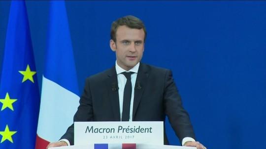 """""""Quero ser o presidente dos patriotas frente à ameaça dos nacionalistas"""", diz Macron"""