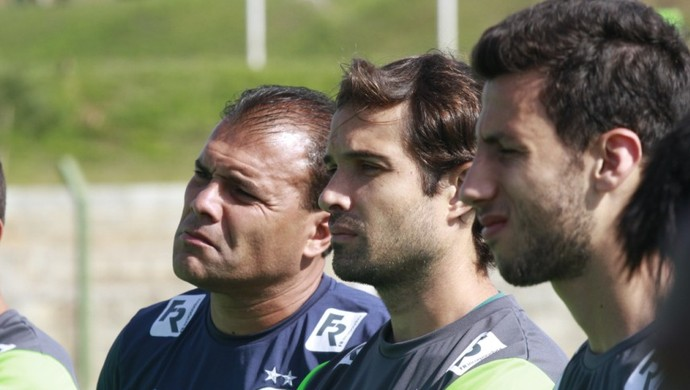 Harlei, David e Moisés - Goiás (Foto: Guilherme Gonçalves / Globoesporte.com)