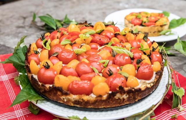 Deliciosa torta de tomatinhos! (Foto: Divulgação)