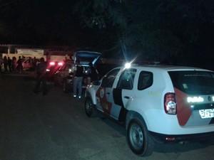 Mulher foi encontrada morte no Jardim Vitória (Foto: São Roque Notícias/Divulgação)