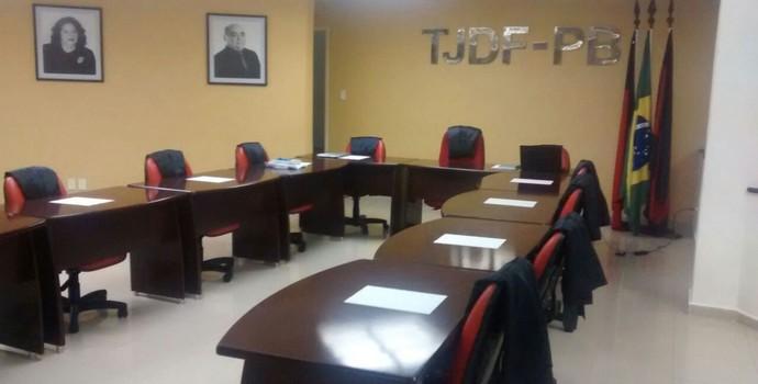 TJD-PB, Tribunal de Justiça Desportiva da Paraíba (Foto: Edgley Lemos / GloboEsporte.com/pb)
