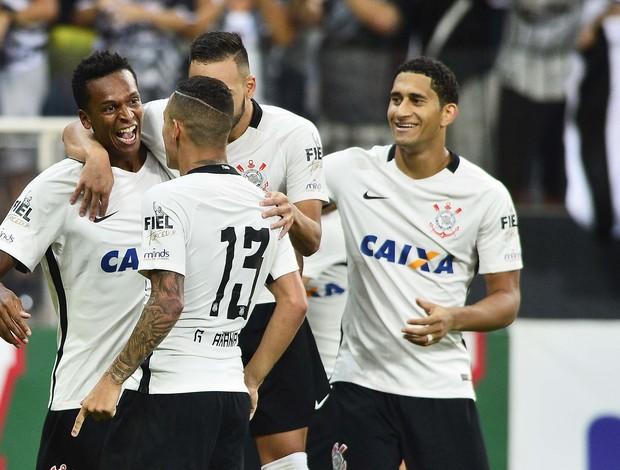 Gol Jô Corinthians x Santos