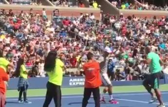 Novak Djokovic dança em quadra e arranca aplausos no US Open. Assista!