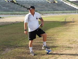 Pedro Manta, novo treinador do Botafogo-PB (Foto: Lucas Barros / globoesporte.com)