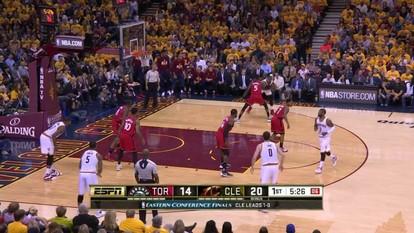 Melhores momentos de Toronto Raptors 89 x 108 Cleveland Cavaliers nos playoffs da NBA