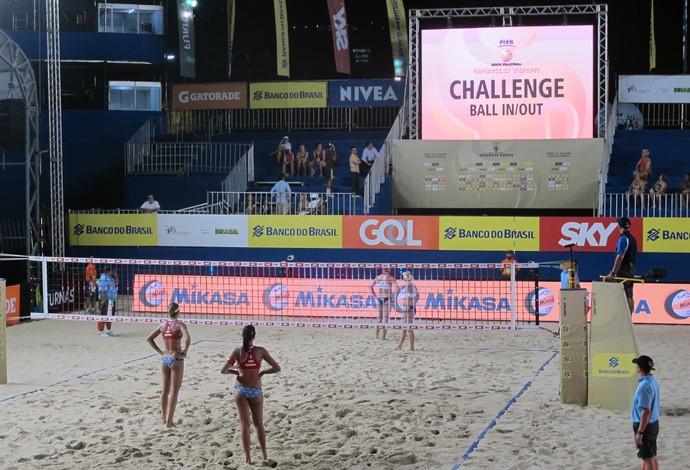 Desafio é recurso já utilizado no Grand Slam do Rio de Janeiro (Foto: Gabriel Fricke)