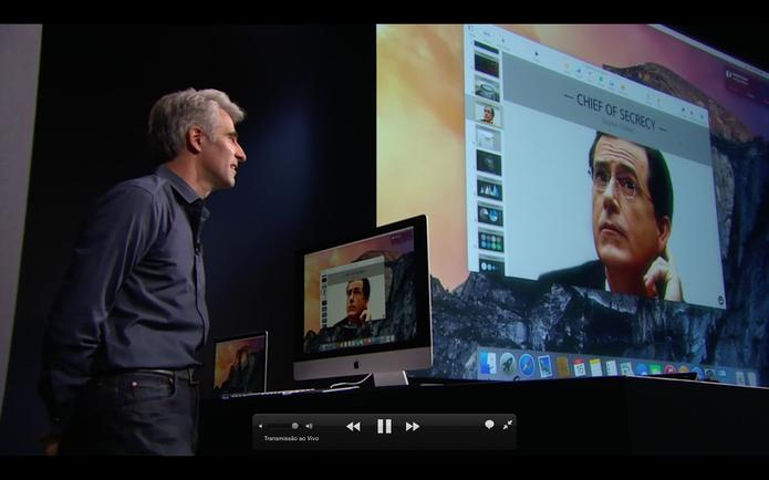 Mac OS X Yosemite faz ligações telefônicas (Foto: Reprodução/Apple)