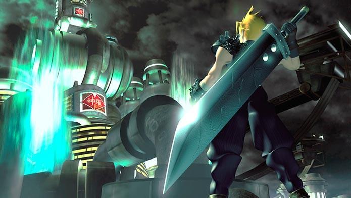 Final Fantasy 7: clássico game da franquia será relançado para PS4 (Foto: Divulgação)