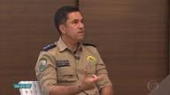 Policial rodoviário orienta como evitar riscos e acidnetes nas estradas durante carnaval