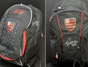b3b0e0889e mochila flamengo Ronaldinho (Foto  Assessoria de Imprensa do Flamengo)