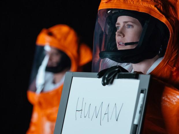 Amy Adams vive a  Doutora Louise Banks, uma estudiosa de linguística, em 'A chegada' (Foto: Divulgação/Sony Pictures)