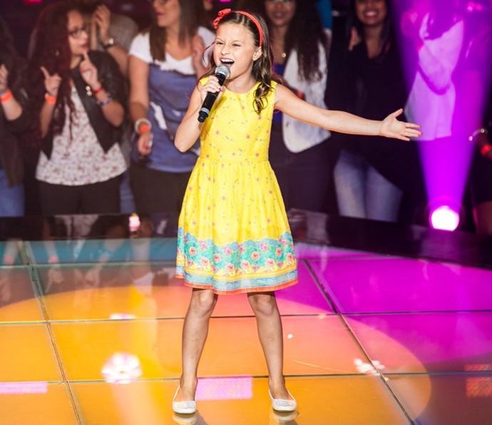 Rafa Gomes deu show de fofura no 'The Voice Kids' (Foto: Isabella Pinheiro/Gshow)