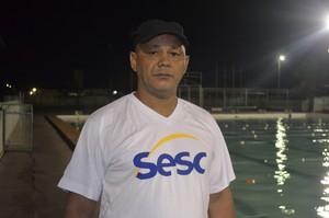 Veteranos das piscinas do Amapá disputam 'Parazão de Masteres' (Foto: Wellington Costa/GE-AP)