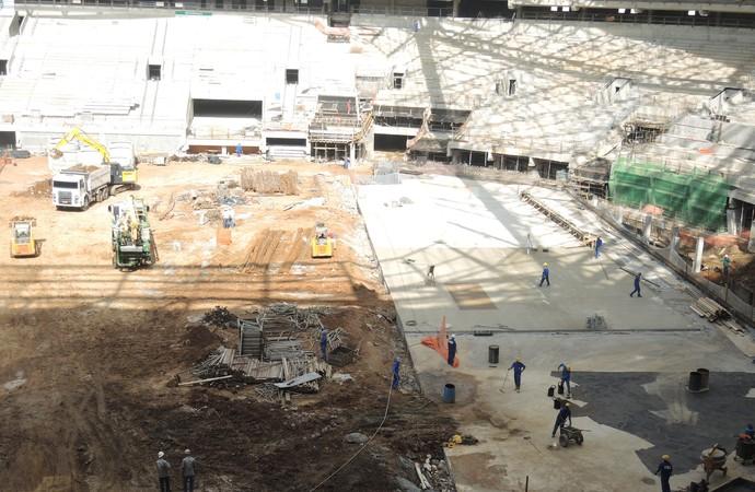 Arena Palmeiras (Foto: Felipe Zito/GloboEsporte.com)