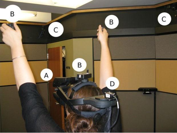 Estudo associa superpoderes virtuais a comportamento social (Foto: Divulgação/Universidade de Stanford)