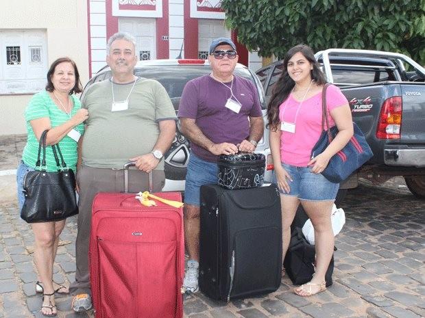 Advogado Humberto Martins veio do Recife para acompanhar a proceissão, em Oeiras (Foto: Gilcilene Araújo/G1)