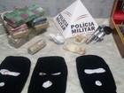 Seis pessoas são detidas com 5,3 quilos de maconha em Almenara