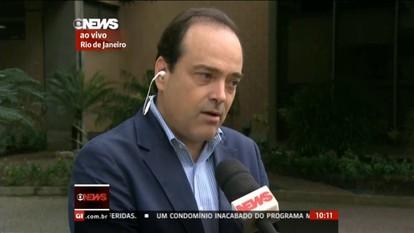 Carros do aplicativo Uber são rebocados pelo Detro no Aeroporto Santos Dumont