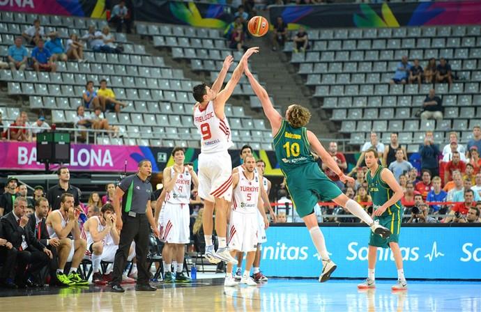 Emir Preldzic, Turquia X Australia - Mundial de Basquete (Foto: Divulgação / FIBA)