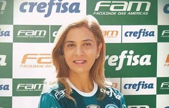 Lançamento da candidatura de Leila Pereira terá show de organizada