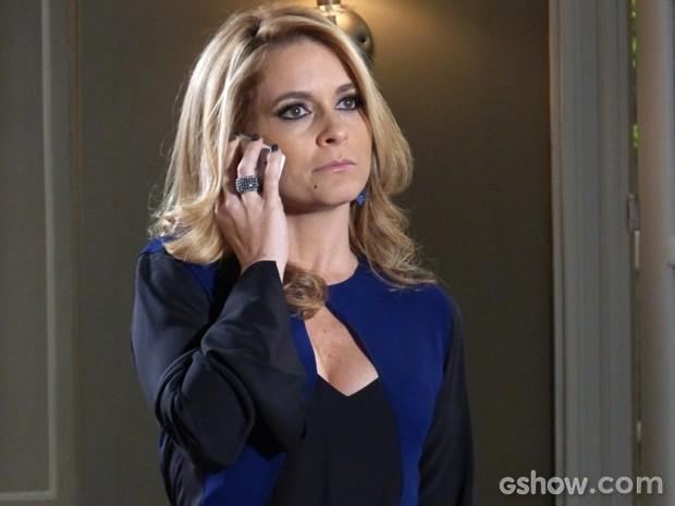 Pamela acertando as contas com Jonas (Foto: Geração Brasil/ TV Globo)