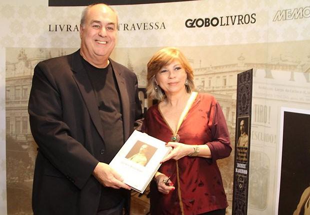 Roberto Irineu Marinho e Maria Alice Rezende de Carvalho (Foto: Anderson Borde / AgNews)