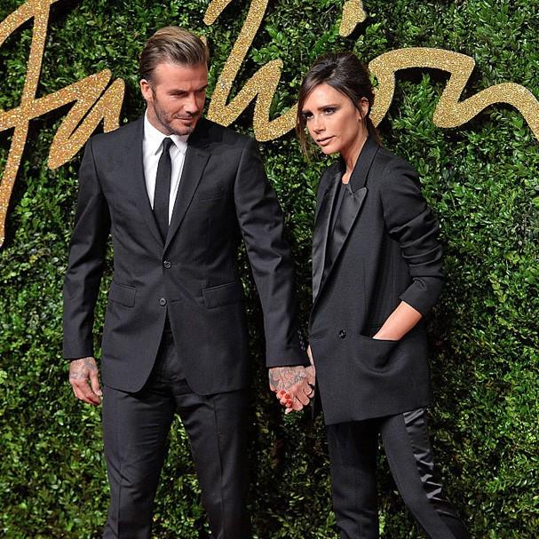 David e Victoria Beckham (Foto: Reprodução Instagram)