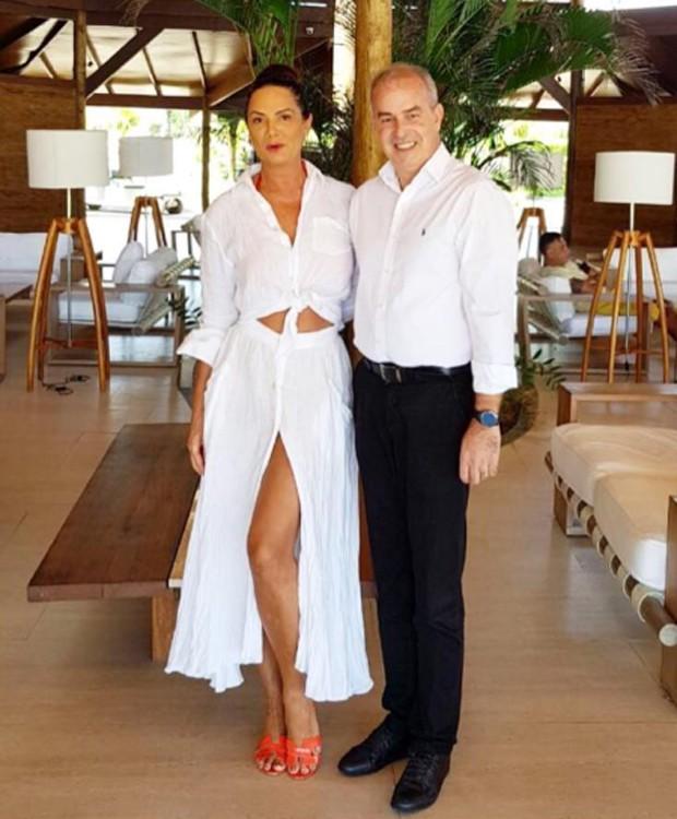 Luiza Brunet e Emanuel Freitas (Foto: Reprodução/Instagram)
