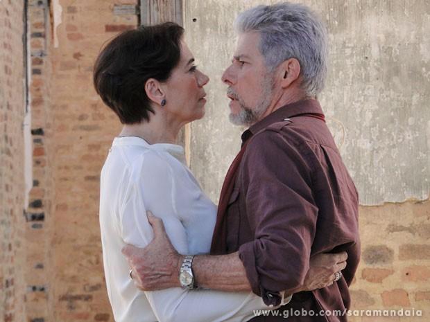 O amor de Vitória e Zico resistiu todas as barreiras (Foto: TV Globo/Saramandaia)