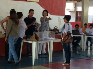 O sorteio foi realizado na manhã desta sexta-feira (13), em Porto Velho. (Foto: Hosana Morais/G1)