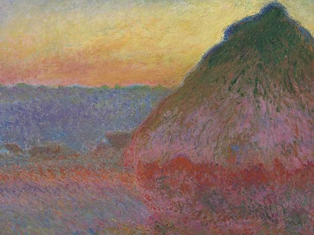 Meule, do francês Claude Monet, foi pintado em 1891 (Foto: Reprodução / Christies)