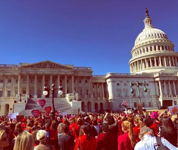 Em Washington, D.C. (EUA) (Foto: reprodução/Instagram)